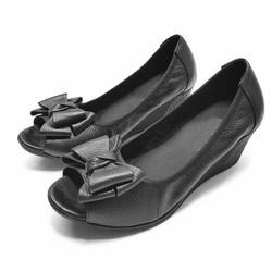 Giày búp bê hở mũichống trơn trượt cao cấp