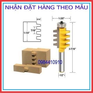MŨI PHAY GHÉP VÁN RĂNG LƯỢC 4 NHÂN CAO 38MM - RGV4N thumbnail
