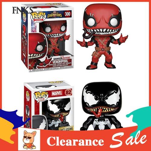 ☞sp 9cm pvc marvel venom deadpool figurine funko pop kids toy home office ornament