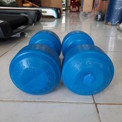 1 bộ gồm 2 cục tạ nhựa: loại 5kg 1 cục, tổng bộ là 10kg. 1 cặp tạ nhựa 5kg, bộ 10kg tạ nhựa ruột xi măng non. chat với shop để được hỗ trợ phí vận chuyển