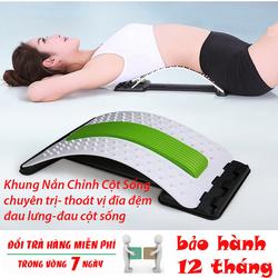 [ĐƯỢC KIỂM HÀNG] Khung nắn chỉnh cột sống và massage lưng [hỗ trợ giảm đau thắt lưng, ngồi nhiều]