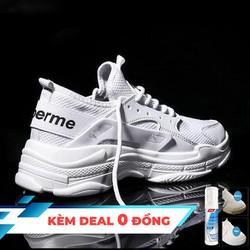 [Hỗ trợ ship 10k] [Tặng chai vệ sinh giày] Giày Nam GIày Sneaker Nam