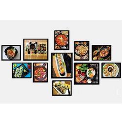 Khung ảnh composite ẩm thực Hàn Quốc KA244