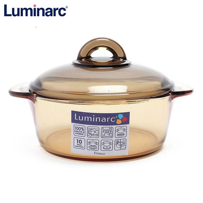Nồi thủy tinh Luminarc Amberline Granite C6313 1,5L - 1667207-