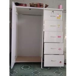 tủ nhựa đài loan 2 cánh 5 ngăn