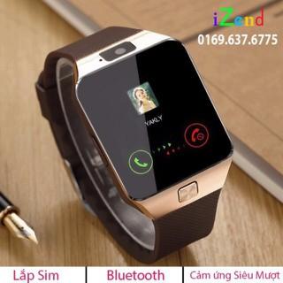 Đồng hồ thông minh Dz09 Gắn sim nghe gọi cảm ứng siêu mượt - kết nối bluetooth đồng bộ danh bạ cuộc gọi - dz09Pro thumbnail