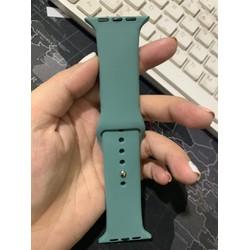[Hàng hot 2019] Dây cao su Xanh mới cho đồng hồ Apple watch - Dây đồng hồ Apple Watch