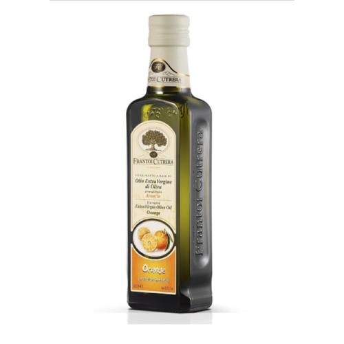 Dầu oliu hữu cơ ép lạnh nguyên chất vị cam 250ml - frantoi