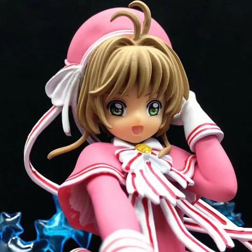 Mô hình đồ chơi nhân vật trong phim hoạt hình quot thủ lĩnh thẻ bài sakura quot 19cm