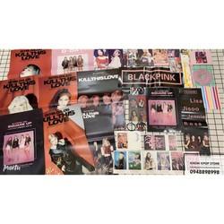 Combo photobook Blackpink mẫu 2 album ảnh tặng kèm poster tập ảnh nhóm nhạc hàn quốc