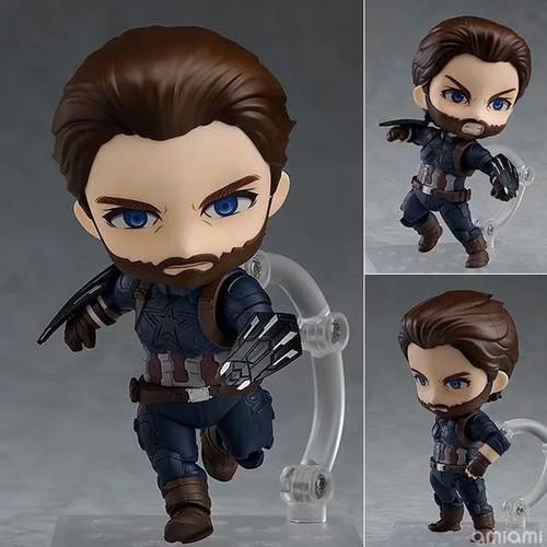 Mô hình nhân vật captain america dễ thương