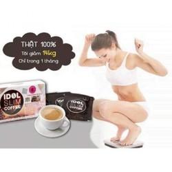 COM BO 2 HỘP CAFFEE GIẢM CÂN IDOL THÁI LAN { HÀNG CHÍNH HÃNG}{TẶNG 20K PVC MUA 2SP}