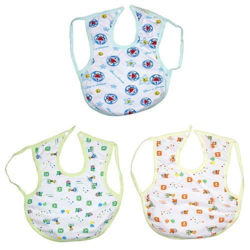 Combo gồm 3 yếm ăn dặm cỡ đại 2 lớp cotton và nilong chống thấm có dây đeo nách cho bé yêu yđkf- kiba fashion - 17933336 , 23313253 , 15_23313253 , 49000 , Combo-gom-3-yem-an-dam-co-dai-2-lop-cotton-va-nilong-chong-tham-co-day-deo-nach-cho-be-yeu-ydkf-kiba-fashion-15_23313253 , sendo.vn , Combo gồm 3 yếm ăn dặm cỡ đại 2 lớp cotton và nilong chống thấm có dây đ