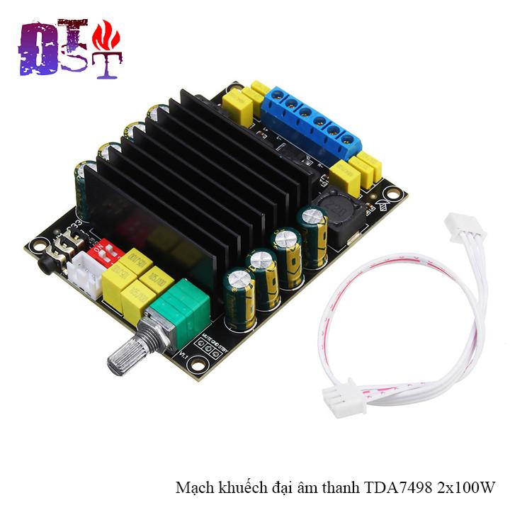 Mạch khuếch đại âm thanh TDA7498  2x100W