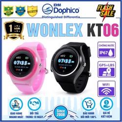 Đồng hồ định vị trẻ em Wonlex KT06 – CHÍNH HÃNG – Kháng nước IP67 – Định vị Wifi,Lbs,Gps,Apgs – Tiếng Việt – Bảo hành 1 năm