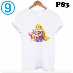 Áo thun trắng trơn in hình trong BST áo phông nam nữ giá rẻ form HÀN QUỐC P83