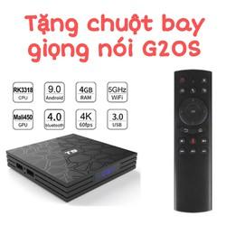 Android TV Box T9 Ram 4GB Rom 32GB tặng chuột bay giọng nói G20S