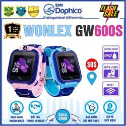 Đồng hồ định vị trẻ em Wonlex GW600S – CHÍNH HÃNG – Kháng nước IP67 – Camera – Wifi,Lb,Gps – Tiếng Việt – Bảo hành 1 năm