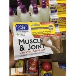 Dầu nóng xoa bóp giúp giảm đau cơ và khớp Muscle Joint Family Care 57g