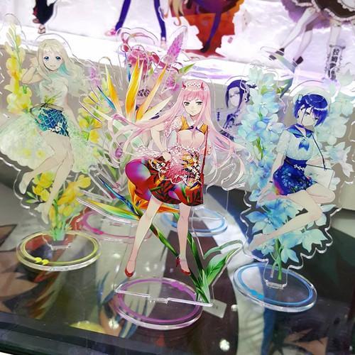 Mô hình standee acrylic anime hình darling in the franxx