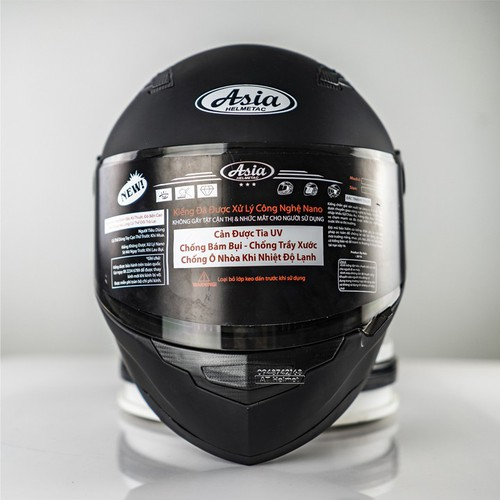 Mũ bảo hiểm fullface asia đen nhám - 19426827 , 23335875 , 15_23335875 , 520000 , Mu-bao-hiem-fullface-asia-den-nham-15_23335875 , sendo.vn , Mũ bảo hiểm fullface asia đen nhám