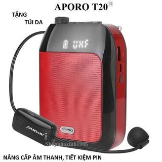 Máy trợ giảng Aporo T20 UHF chính hãng màu đỏ - 1541477546 thumbnail