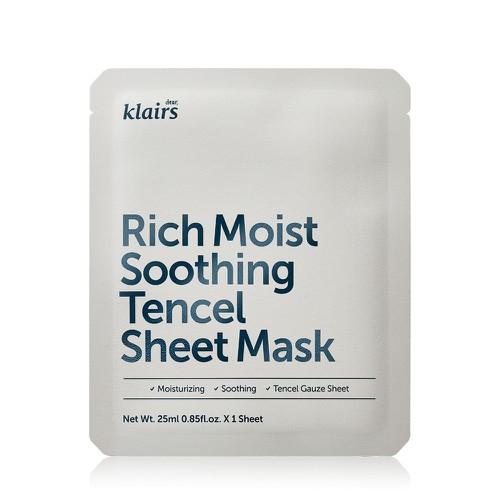 Mặt nạ dưỡng ẩm sâu, làm dịu dành cho da nhạy cảm, kích ứng klairs rich moist soothing tencel sheet mask 25ml - 20511498 , 23364499 , 15_23364499 , 67000 , Mat-na-duong-am-sau-lam-diu-danh-cho-da-nhay-cam-kich-ung-klairs-rich-moist-soothing-tencel-sheet-mask-25ml-15_23364499 , sendo.vn , Mặt nạ dưỡng ẩm sâu, làm dịu dành cho da nhạy cảm, kích ứng klairs rich m
