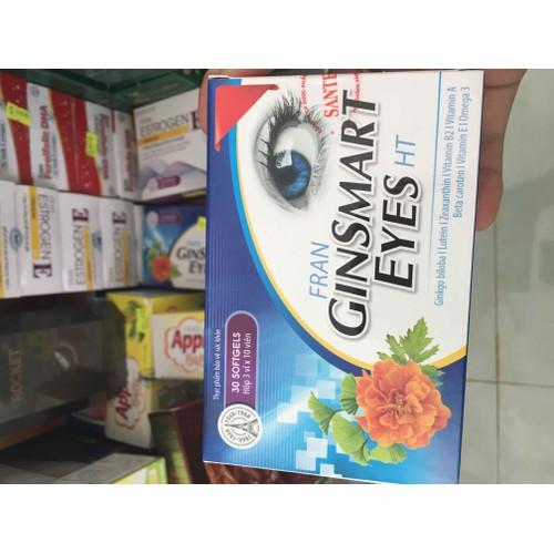Ginsmart eyes- hỗ trợ trị mỏi mắt- khô mắt- mắt mờ