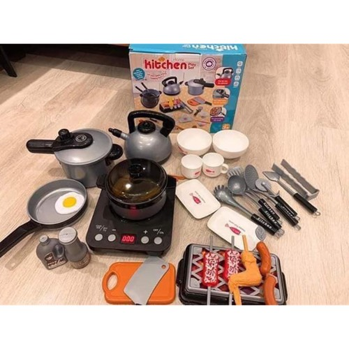 Bộ đồ chơi nấu ăn nhà bếp 36 món