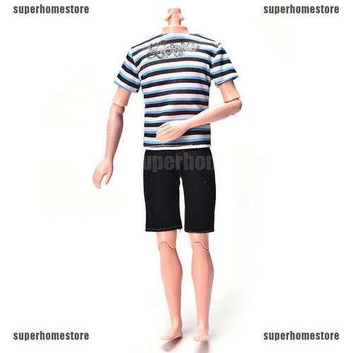 Set áo kẻ sọc và quần ngắn thời trang cho búp bê ken - 20505406 , 23355348 , 15_23355348 , 32595 , Set-ao-ke-soc-va-quan-ngan-thoi-trang-cho-bup-be-ken-15_23355348 , sendo.vn , Set áo kẻ sọc và quần ngắn thời trang cho búp bê ken