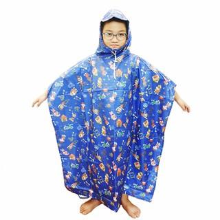 Áo mưa trẻ em - Vải dù siêu bền
