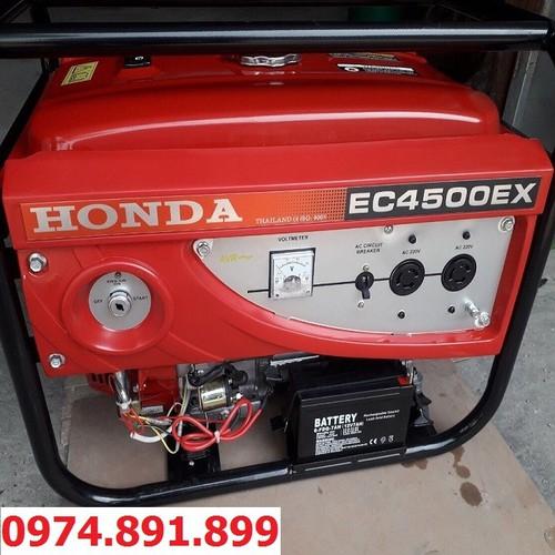 Máy phát điện honda 3kw ec4500cx chạy xăng & đề nổ - 20508368 , 23359757 , 15_23359757 , 6890000 , May-phat-dien-honda-3kw-ec4500cx-chay-xang-de-no-15_23359757 , sendo.vn , Máy phát điện honda 3kw ec4500cx chạy xăng & đề nổ