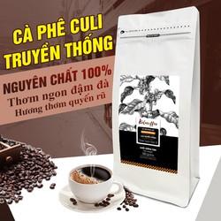 [ĐẶC BIỆT] Cà phê Culi Kalacoffee - Pha Phin - Rang Bơ - Đậm Vị - Hậu Ngọt - Gói 500gr