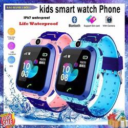 Đồng hồ định vị trẻ em Q12 nghe gọi chống nước