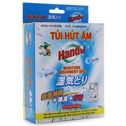 Bộ 3 hộp 5 gói hút ẩm chống ẩm mốc thơm nhẹ Hando 50g [ĐƯỢC KIỂM HÀNG]