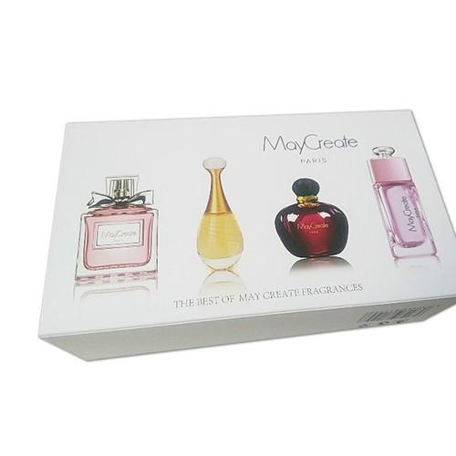 Set 4 chai nước hoa maycreate cao cấp - nước hoa nam nữ