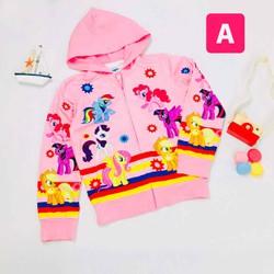 Áo khoác chống nắng bé gái NGỰA PONY Áo khoác Pony cho bé gái mềm mát sale