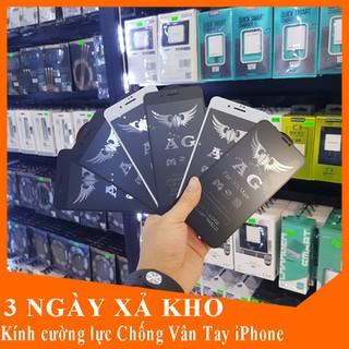 Kính cường lực chống vân tay kính cường lực Iphone 6,6s, 6 plus,7,8 Plus,X, Xs, Xs Max, 11Pro, 11 ProMax - Kính chống vân tay iphone thumbnail