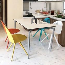 Bộ bàn ghế phòng ăn 1m2 và 4 ghế cao cấp Italy giá tốt tại Tp.HCM Nội thất CAPTA