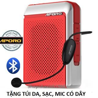 Máy trợ giảng Aporo 30W 2 4G Bluetooth 5 0 không dây - 2871212927 thumbnail