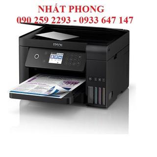 Máy in phun màu đa năng L6160 - in 2 mặt , scan, copy, wifi - L6160 thumbnail