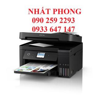 Máy in phun màu đa năng L6190 - in 2 mặt , scan, copy, Fax, wifi - L6190 thumbnail