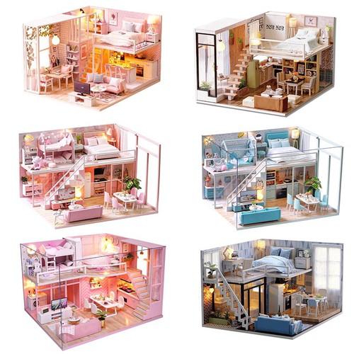 Mô hình nhà gỗ búp bê tự bộ đồ chơi búp bê thu nhỏ với nội thất làm nhà thủ công sưu tầm cho sở thích - 20524576 , 23387663 , 15_23387663 , 354200 , Mo-hinh-nha-go-bup-be-tu-bo-do-choi-bup-be-thu-nho-voi-noi-that-lam-nha-thu-cong-suu-tam-cho-so-thich-15_23387663 , sendo.vn , Mô hình nhà gỗ búp bê tự bộ đồ chơi búp bê thu nhỏ với nội thất làm nhà thủ cô