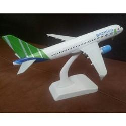 MÔ HÌNH MÁY BAY TĨNH BAMBOO A380 20CM