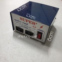 Biến thể 5A - 500W chuyển 220v ra 100v hoặc 100v - biến thế điện biến áp SUPER bộ đổi điện chuyển nguồn LioA SUPER