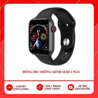 combo 10 Đồng Hồ Thông Minh W34 seri 4 kết hợp nghe gọi và theo dõi sức khỏe tiện ích cho mọi nhà - dongho1 7
