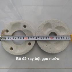 Bộ đá máy xay bột gạo nước