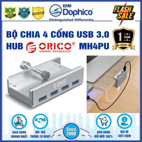 Bộ chia 4 cổng usb 3.0 – hub orico mh4pu – chính hãng – bảo hành 12 tháng – usb3.0 four – port hub