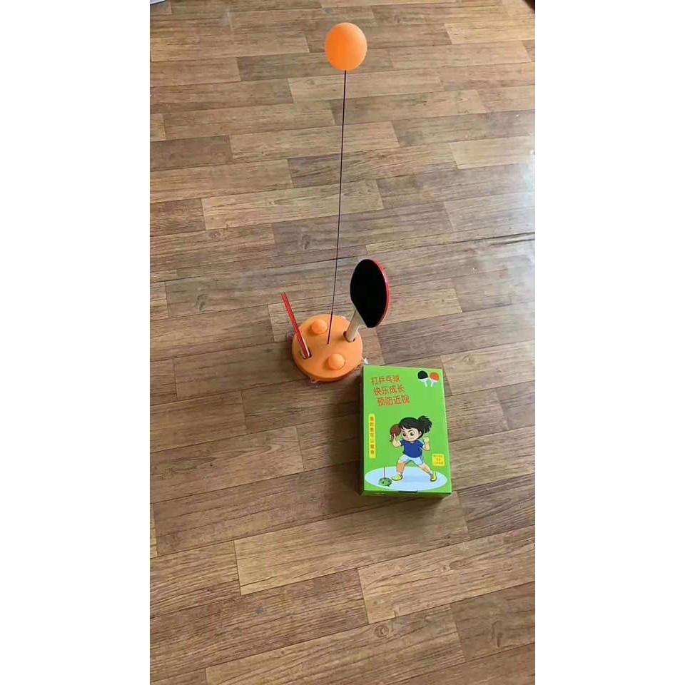 [MIỄN SHIP] Bộ bóng bàn 3 bóng vợt gỗ luyện phản xạ thể dục mọi lúc mọi nơi - BONGBAN7 10