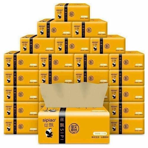 Free ship hộp 30 gói giấy ăn gấu trúc
